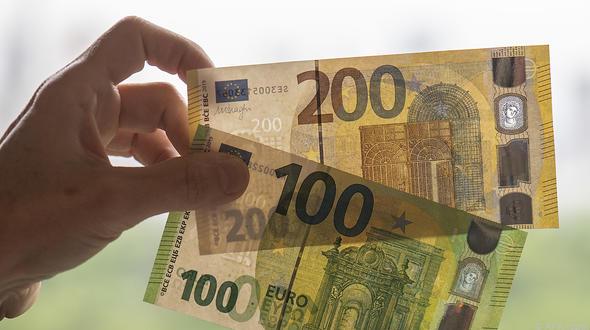 Neue Banknoten: Große Scheine werden kleiner