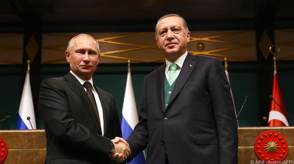 Russlands Präsident Putin zu Besuch in Ankara