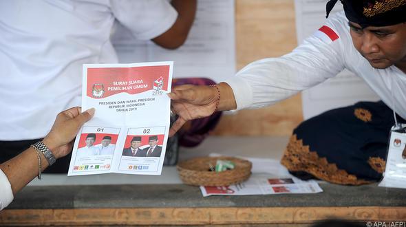 Indonesien-Wahl: 300 Helfer nach Auszählung gestorben