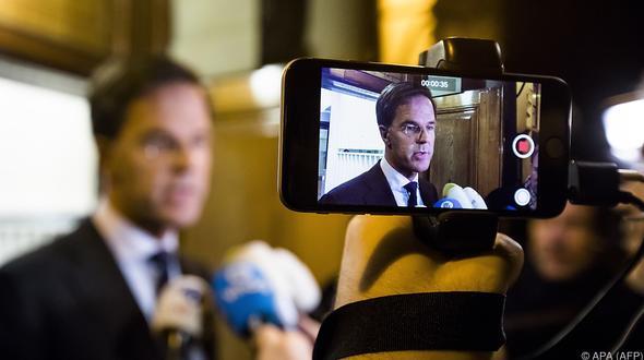 Neue Regierung in Den Haag steht