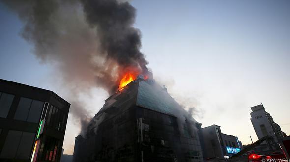 Viele Tote in Sauna nach Brand in Südkorea