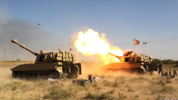Iraks Armee verkündete Rückeroberung der IS-Hochburg Hawija
