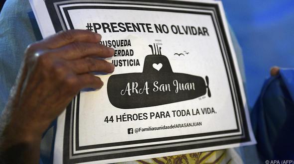 Ein Jahr nach Verschwinden: Argentinisches U-Boot geortet