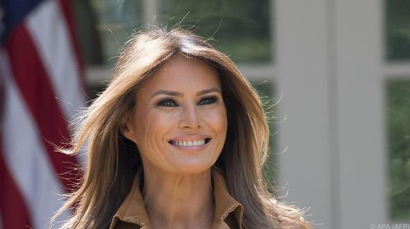 Melania Trump meldet sich zurück - dpa