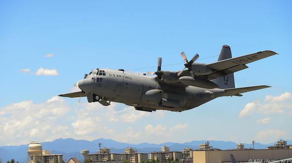 Vor Japans Küste: Zwei US-Militärflugzeuge zusammengeprallt