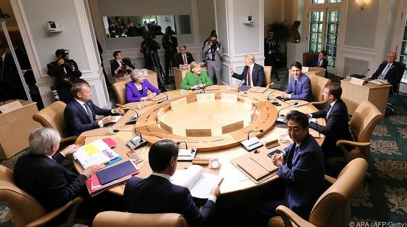 G7-Gipfel: Leichte Entspannung im Handelsstreit zwischen USA und EU