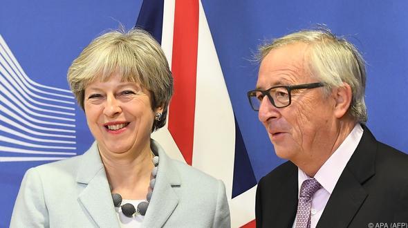 Grundsatzeinigung zu Brexit-Verhandlungen