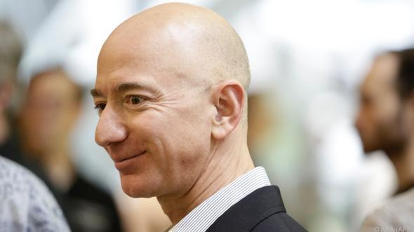 Jeff Bezos mit weitem Abstand reichster Mensch der Erde