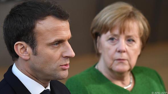 Merkel und Macron vertagen gemeinsame Pläne für EU-Reform