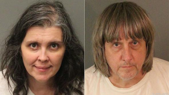 Eltern in Kalifornien halten 13 Kinder gefesselt in Haus fest