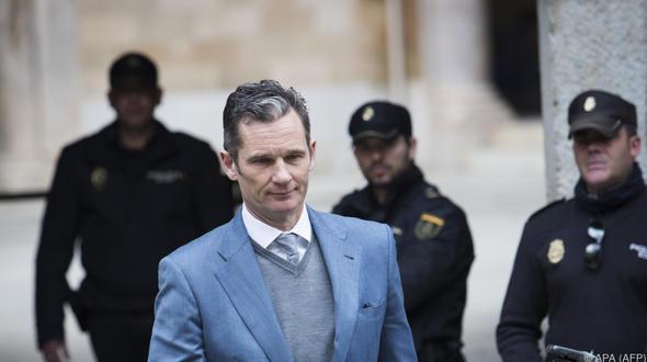 Schwager des spanischen Königs Felipe muss in Haft