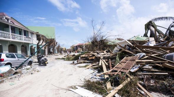 ISS filmt Hurrikan Irma aus dem All