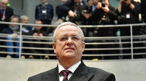 """Martin Winterkorn steht laut """"Bild am Sonntag"""" im Visier der Steuerfahnder"""
