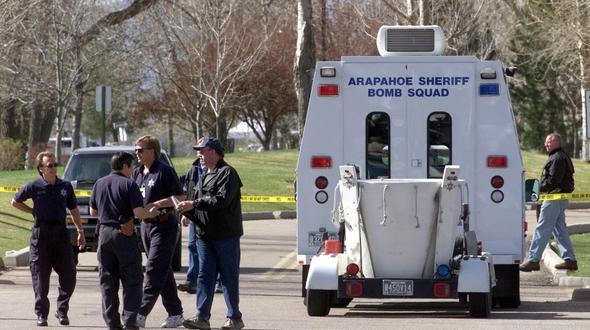 Columbine Highschool nach Bedrohung abgeriegelt