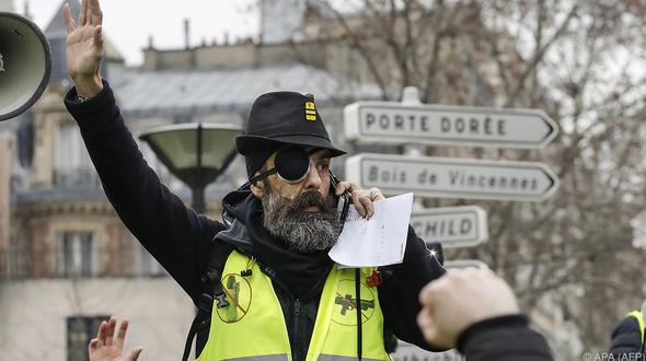 Demonstrationen Regierung Frankreich:Wieder