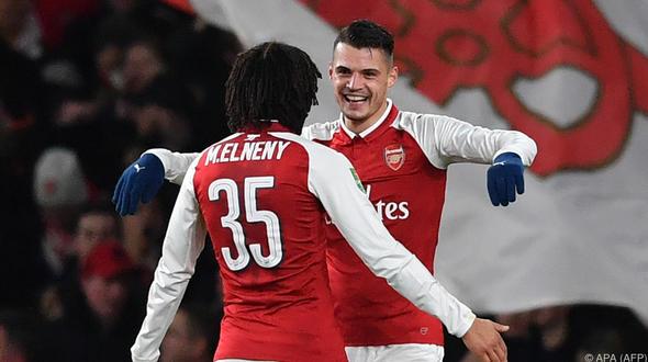 Xhaka schiesst Arsenal ins Finale