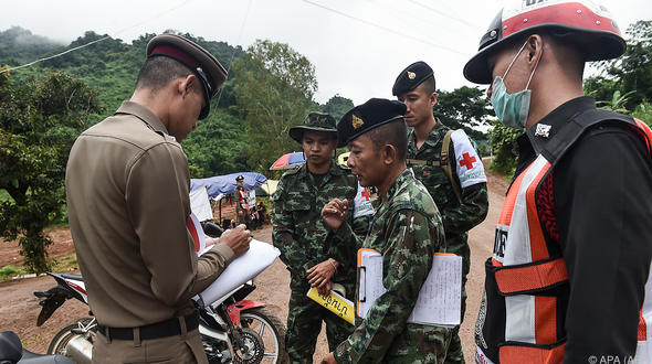 Höhlen-Drama: Rettungsaktion in thailändischer Höhle kommt rasch voran