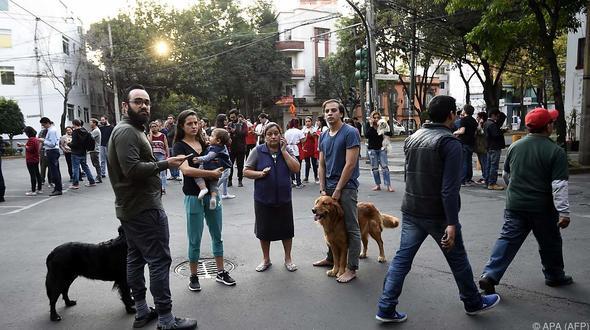 Schweres Erdbeben erschüttert den Süden Mexikos