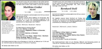 Dolomiten Zeitung Todesanzeigen