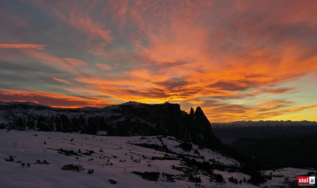 Sonnenuntergang-auf-der-Seiser-Alm-Danie