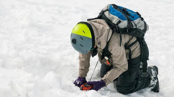 Skifahrerin (37) bleibt bei Lawinenabgang im Kleinwalsertal unverletzt