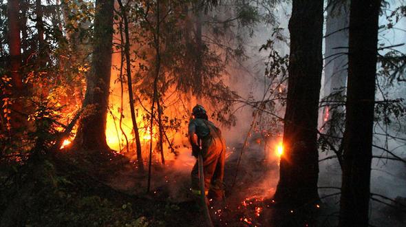 Russland dämmt brände weiter ein erste unwetter