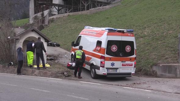 Tödlicher Verkehrsunfall in Passeier