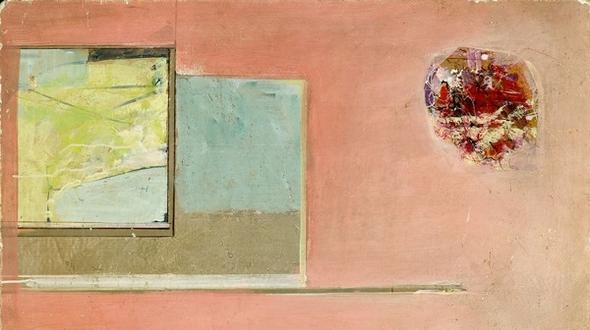 Karl plattner 60er jahre tempera auf holz 105 x 69 5 cm