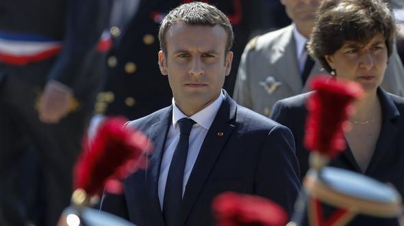 Macron will