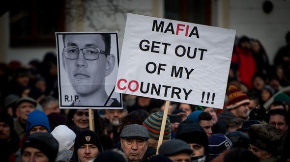Italienische Mafia hat offenbar Kuciak ermordet