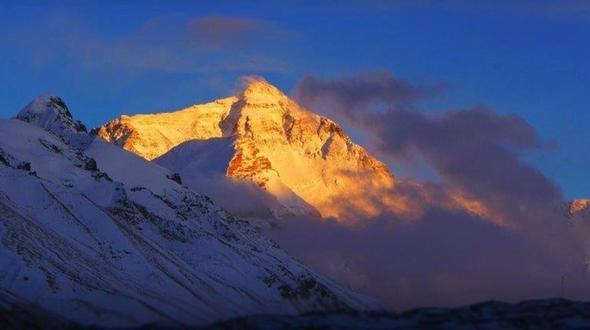 Freizeit Österreich Nepal: Blinder Österreicher feiert Gipfelsturm auf den Mount Everest