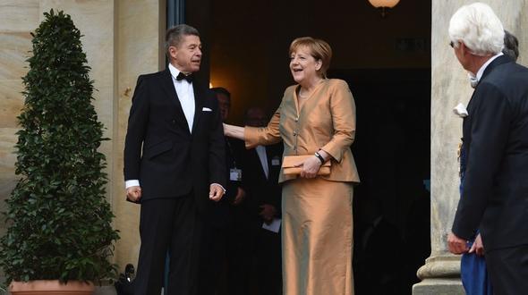 Merkel und Schwedens Königin geben sich in Bayreuth die Ehre
