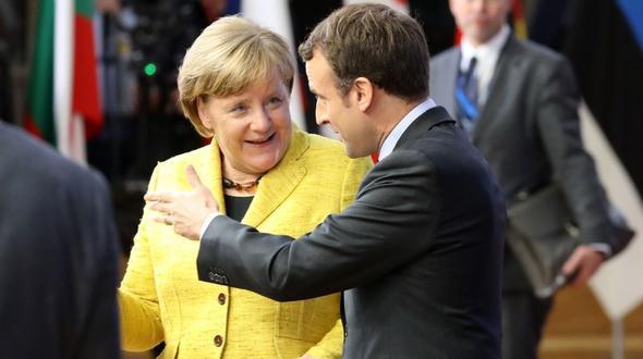 Merkel und Macron wollen EU und Euro-Zone stärken
