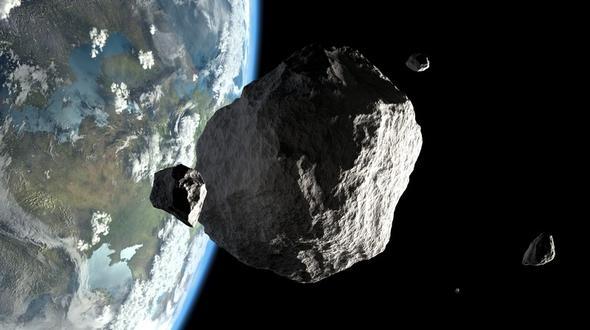 Droht ein Weltuntergang? Asteroid rast auf die Erde zu!