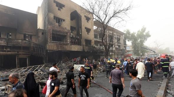 Irak Zahlreiche Tote bei Doppelanschlag in Bagdad
