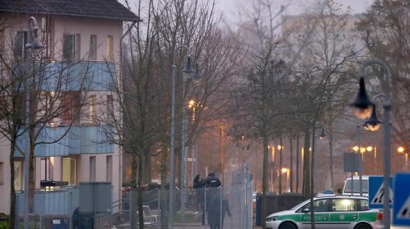 Brand in der Asylunterkunft Oberfranken in Bamberg