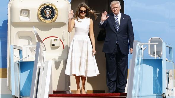 Besuch in Nahost: Trump versucht sich als Dealmaker