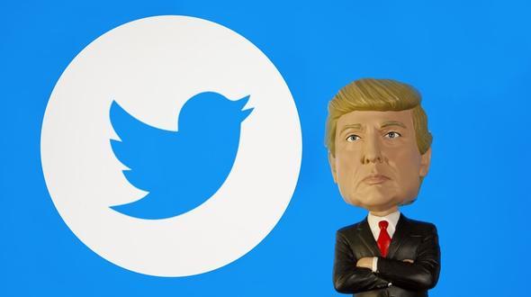 Trump am Wochenende in Twitterlaune