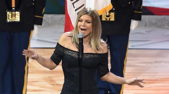 Fergie blamiert sich mit Jazz-Version der US-Hymne
