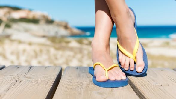 Flipflop-Verbot beim Wandern in Touristenregion Cinque Terre