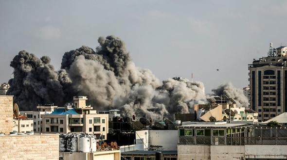 Gazastreifen - Israelische Luftwaffe beschießt Hamas-Ziele