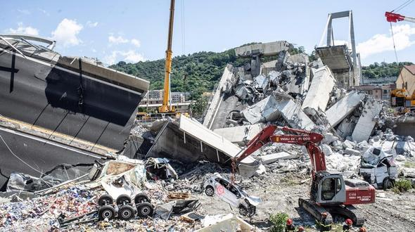 Autostrade-Chef sagt 500 Mio. Euro für Aufbau von Brücke zu