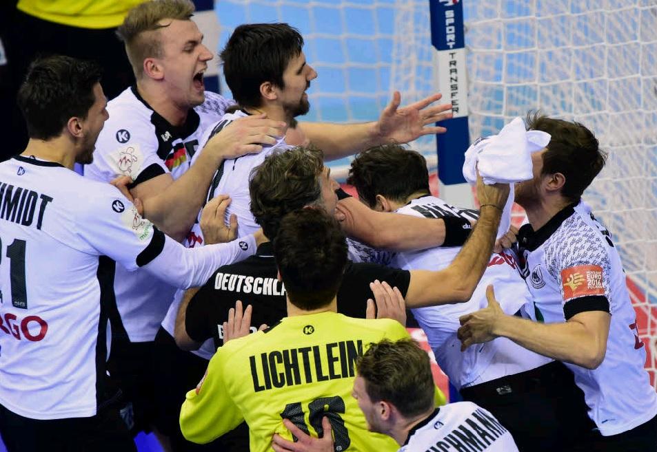 handball em männer