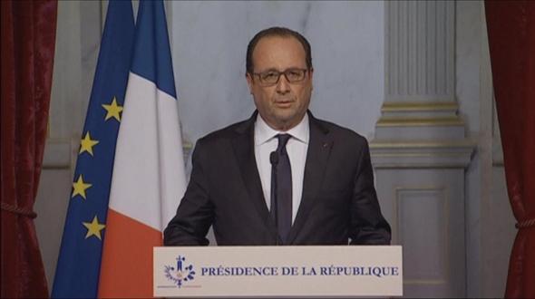 Versailles: Merkel und Hollande für