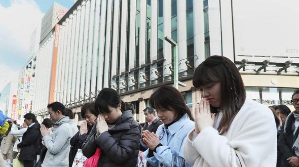 Japan gedachte der Opfer von Tsunami und Fukushima-Gau