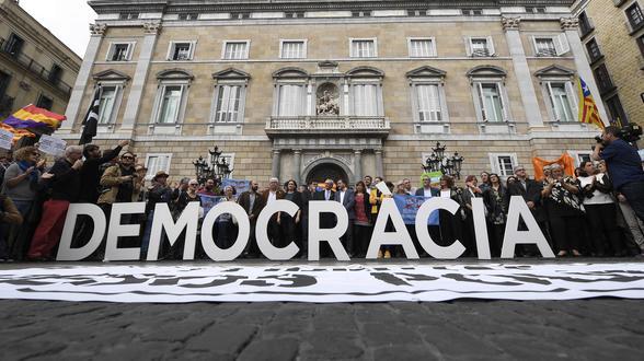 Katalonien-Krise | Untersuchungshaft gegen Separatisten angeordnet