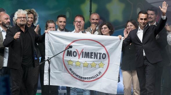 Fünf-Sterne-Bewegung kürt Jungpolitiker Di Maio zum Kandidaten