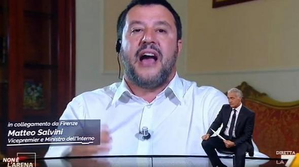 Salvini reagiert verärgert:Italien beschlagnahmt