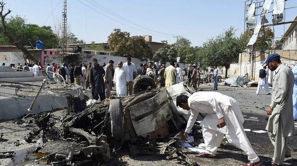 Mindestens fünf Tote bei Bombenanschlag in Quetta