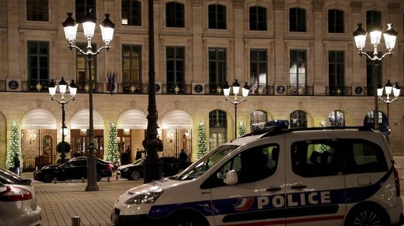 Millionen-Raub im Luxushotel Ritz in Paris